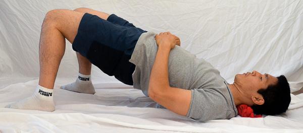 Stiff Neck Treatment With Tennis Balls In sock