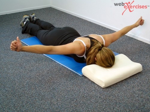 Middle Trap exercise:Toronto Chiropractor