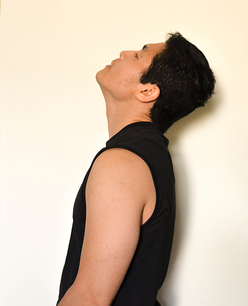 Cervical Spine Pain Exercise: Look Up -Extension -Toronto Downtown Chiropractor